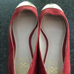 Slightly used Vince Camuto flats